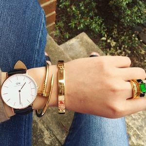 Daniel Wellington Sheffield Rose Gold Watch ✨ 36mm